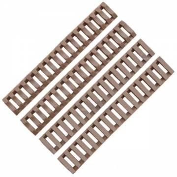 D-Boys Rubber Rail Cover 4pcs - Tan