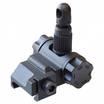 D-Boys SCAR Type Metal Flip Up Rear Sight