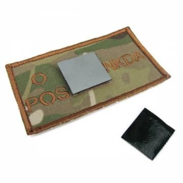 King Arms NDKA Blood Type Patch - MC - O