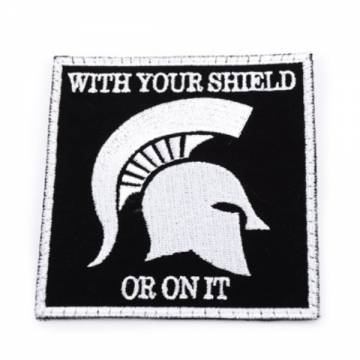 King Arms Navy Devgru Spartan Soldier Embroidery Patch