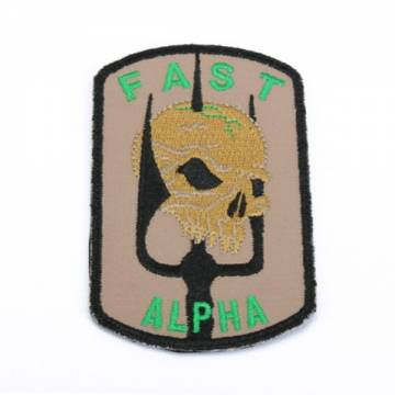 King Arms DEA Fast Team Emboridery Patch