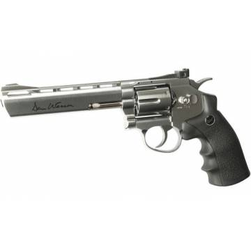 Dan Wesson 6 Inch 4,5mm Revolver Silver - Full Metal
