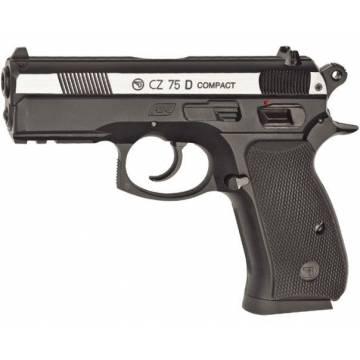 CZ 75D Compact Co2 4,5mm - Silver Slide