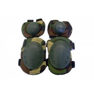 Knee and Elbow Pads Set - Woodland