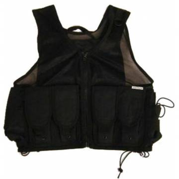 Light Weight Tactical Vest - Black