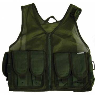 Light Weight Tactical Vest - Olive Drab