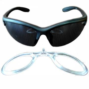 Tactical Anti-Fog Glasses - Smoke w/ Vision Carrier