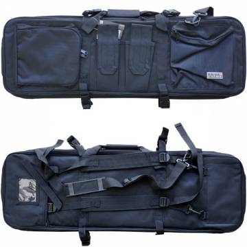 Swiss Arms Backpack for 2 Rifles - Black