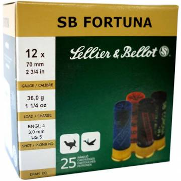 Sellier & Bellot Fortuna C12 36g - 25pcs