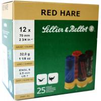 Sellier & Bellot Red Hare C12 32g - 25pcs