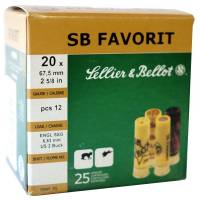Sellier & Bellot Favorit C20 28g - 25pcs
