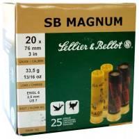 Sellier & Bellot Magnum C20 33,5g - 25pcs