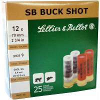 Sellier & Bellot Buck Shot C12 32g - 25pcs