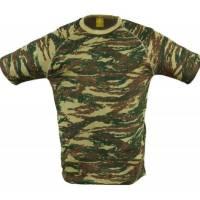 Pentagon T-Shirt Flatlock - Greek Lizard