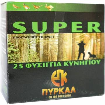 PYRKAL SUPER C12 36g - 25pcs