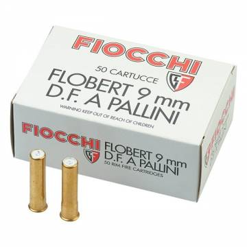 Fiocchi Flobert 9mm - 50pcs