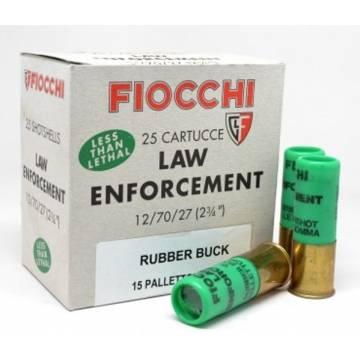 Fiocchi Rubber Buckshot C12 15rds - 1 pcs