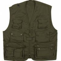 Pentagon Safari Vest - Olive Drab