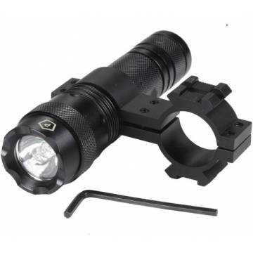 Pentagon Flashlight Gun Mount