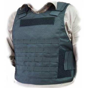 Bulletproof Carrier w/ Molle System - Black