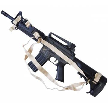 Three Point Sling w/ Stock Adaptor - Tan