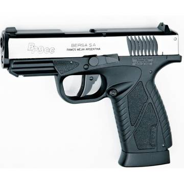 BERSA BP9CC Co2 4,5mm Blowback - Silver Slide