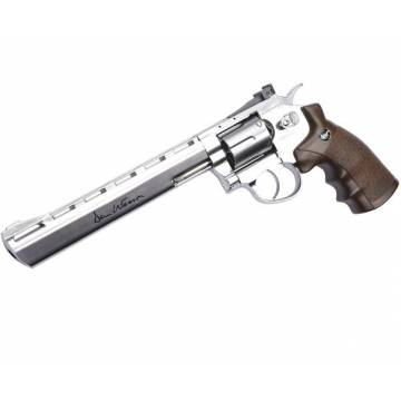 Dan Wesson 8 Inch 4,5mm Revolver Silver - Full Metal