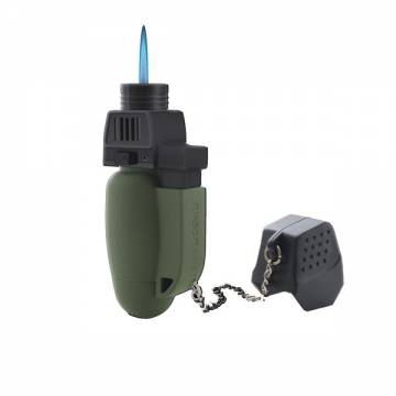 Turboflame Military Mini Blow Torch - Olive
