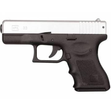 HFC Glock 33 Spring Pistol - Black / Silver