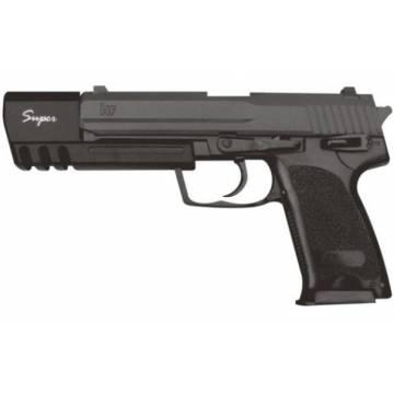 HFC H&K USP Match Spring Pistol - Black