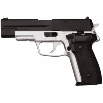 HFC SIG P226 Spring Pistol - Black / Silver