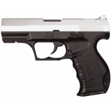 HFC Walther P99 Spring Pistol - Black / Silver