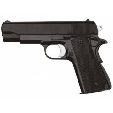 HFC Colt M1911 Officer Spring Pistol - Black