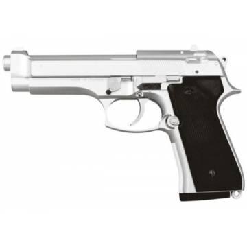 HFC Beretta M92F Spring Pistol - Silver