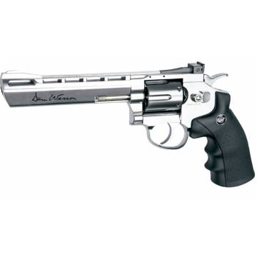 Dan Wesson 6 Inch 4,5mm Silver (Pellets) Full Metal