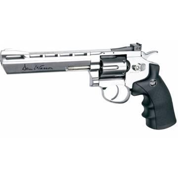 Dan Wesson 6 Inch 4,5mm Silver (Pellets) Full Metal