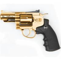 Dan Wesson 2,5 Inch 4,5mm Revolver Gold - Full Metal
