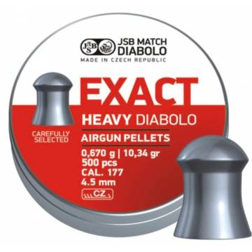 JSB Exact Heavy 4,52mm (0,670g) 500pcs