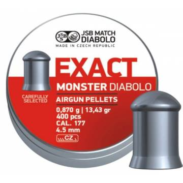 JSB Exact Monster 4,52mm (0,870g) 400pcs