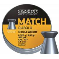 JSB Match Diabolo 4,49mm (0,520g) 500pcs