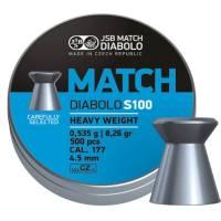 JSB Match Diabolo S100 4,5mm (0,535g) 500pcs