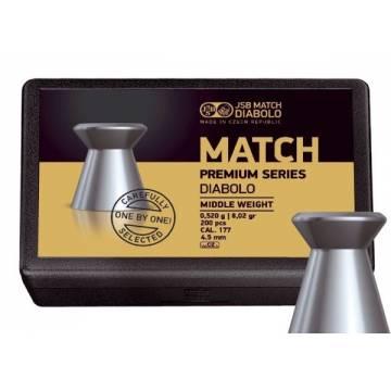 JSB Match Premium 4,5mm (0,520g) 200pcs