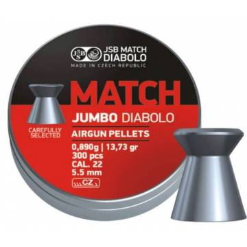 JSB Match Jumbo 5,5mm (0,890) 300pcs
