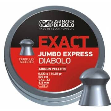 JSB Exact Jumbo Express 5,52mm (0,930) 500pcs