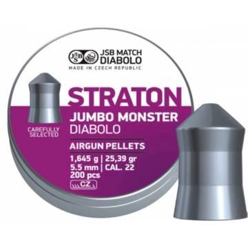 JSB Straton Jumbo Monster 5,51mm (1,645g) 200pcs