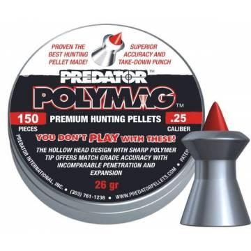 JSB Polymag Predator 6,35mm - 150pcs