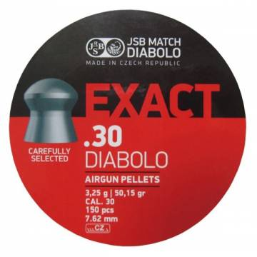 JSB Exact Diabolo 7,62mm (3,250g) 150pcs