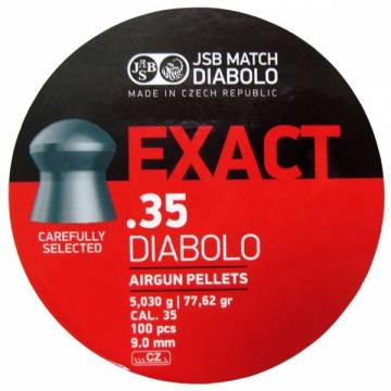 JSB Exact Diabolo 9mm (5,030g) 100pcs