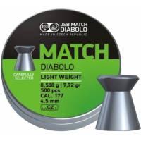 JSB Match Diabolo 4,51mm (0,500g) 500pcs