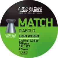 JSB Match Diabolo 4,49mm (0,475g) 500pcs
